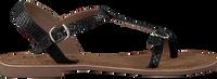 LAZAMANI Sandales 75.501 en noir - medium