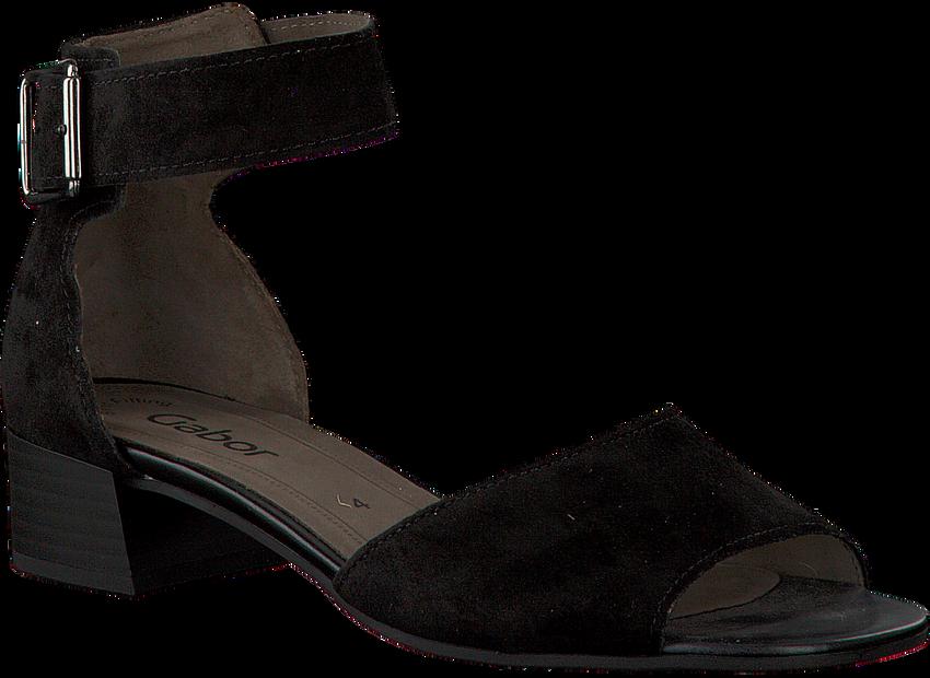Zwarte GABOR Sandalen 723 - larger