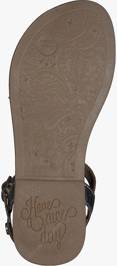 GIOSEPPO Sandales 48616 en argent  - larger