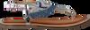 GIOSEPPO Sandales BERMUDAS en bleu  - small