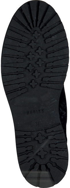 NUBIKK Bottines à lacets FAE STELLA FUR en noir  - large