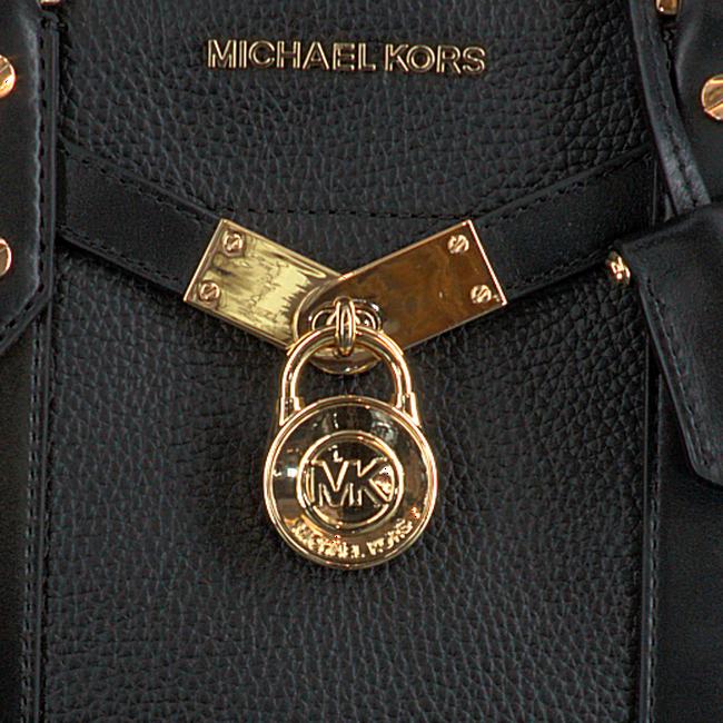 MICHAEL KORS Sac à main NOUVEAU HAMILTON LG en noir  - large