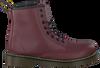 DR MARTENS Bottines à lacets DELANEY/BROOKLY en rouge - small