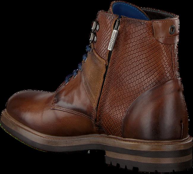 GIORGIO Chaussures à lacets HE59614 en marron - large
