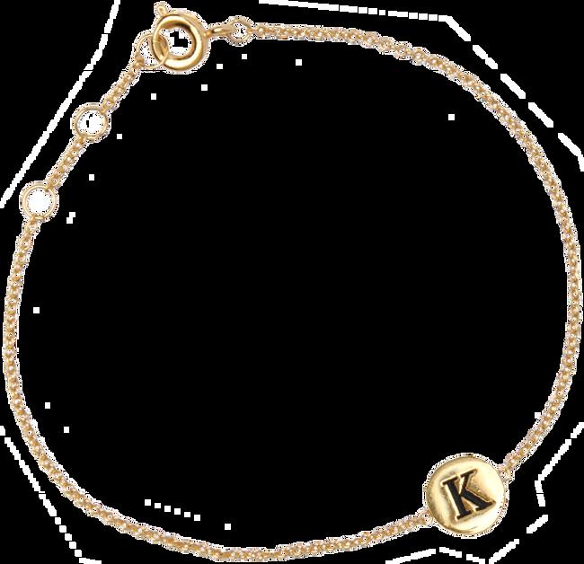 ALLTHELUCKINTHEWORLD Bracelet CHARACTER BRACELET LETTER GOLD en or - large