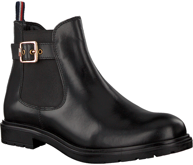 Zwarte TOMMY HILFIGER Chelsea boots 30460  - large