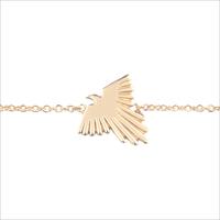 Gouden ATLITW STUDIO Armband SOUVENIR BRACELET EAGLE - medium