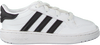 Witte ADIDAS Lage sneakers TEAM COURT EL I  - small