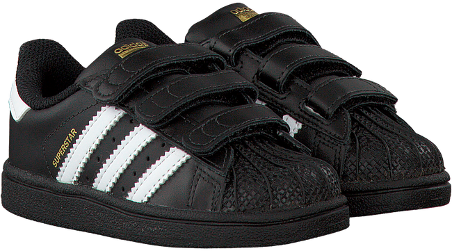 ADIDAS Baskets SUPERSTAR CF en noir - large