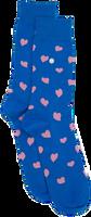 Alfredo Gonzales Chaussettes HEARTS en bleu  - medium