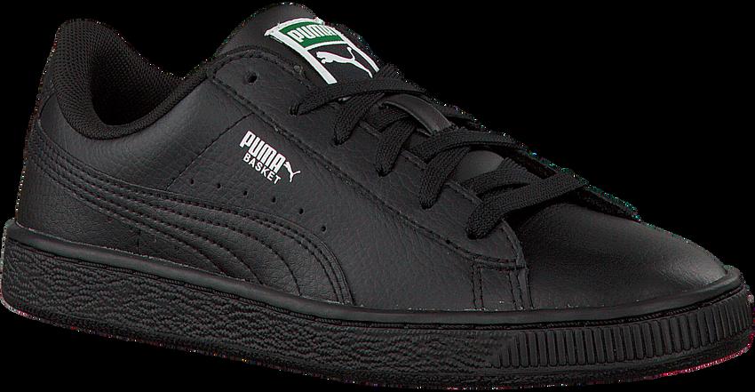 PUMA Baskets BASKET CLASSIC LFS en noir - larger