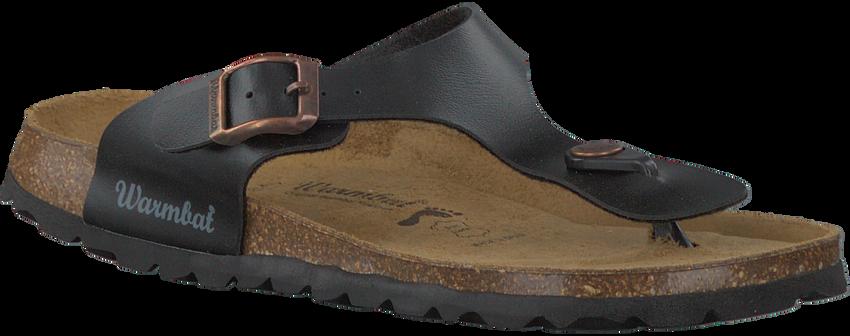 Zwarte WARMBAT Slippers 081503  - larger