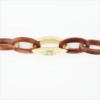 Roze NOTRE-V Armband ARMBAND RESIN  - medium