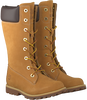 TIMBERLAND Bottes hautes GIRLS CLASSIC TALL LACE-UP en camel - small