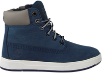 TIMBERLAND Bottillons DAVIS SQUARE 6 KIDS en bleu - medium