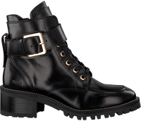 NUBIKK Bottines à lacets DJUNA AUBINE en noir  - medium