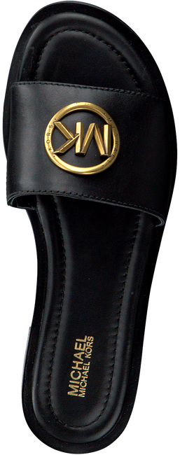 MICHAEL KORS Tongs BRYNN SLIDE en noir  - large