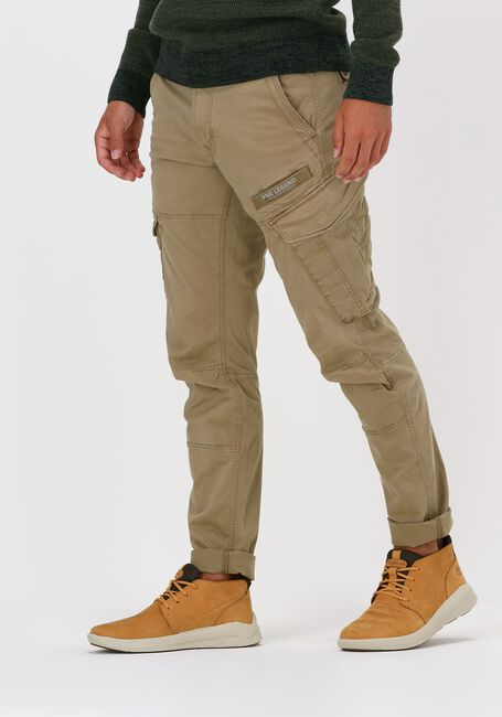 Beige PME LEGEND Chino CARGO PANTS STRETCH TWILL CARG - large