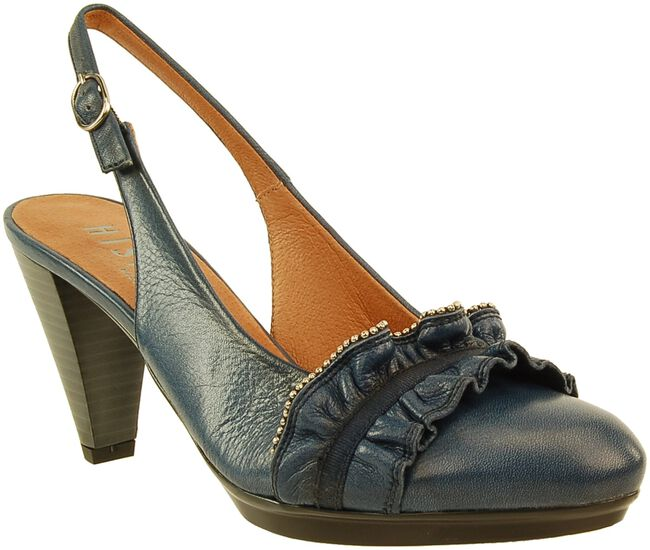 blauwe HISPANITAS Pumps 14029  - large