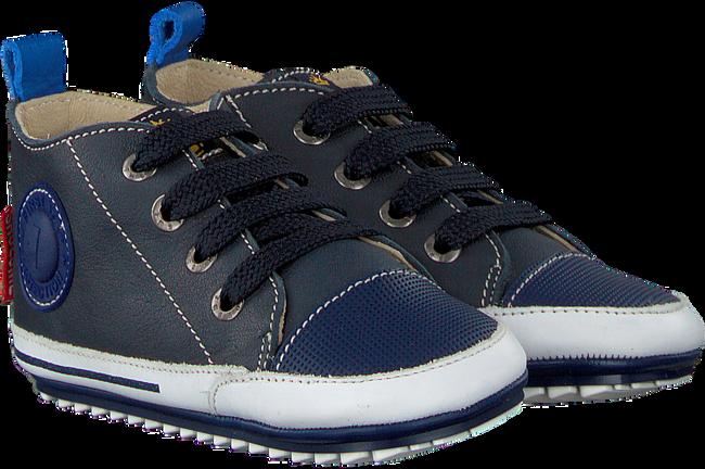 SHOESME Chaussures bébé BP8W004 en bleu - large