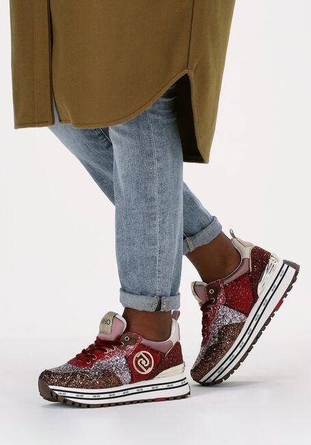 Rode LIU JO Lage sneakers MAXI WONDER 1 - large
