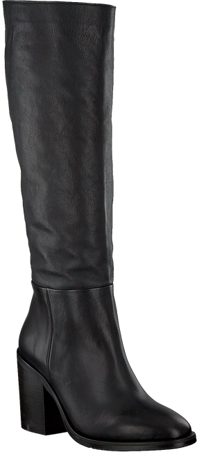 TOMMY HILFIGER Bottes hautes MONO COLOR LONG en noir  - large