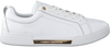 TOMMY HILFIGER Baskets basses BRANDED OUTSOLE METALLIC en blanc  - small