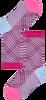HAPPY SOCKS Chaussettes HYSTERIA ROSA CREW SOCK en blanc  - small