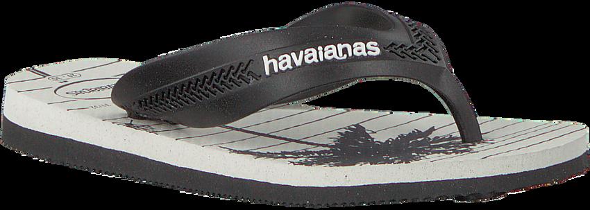 HAVAIANAS Tongs KIDS MAX TREND en noir  - larger