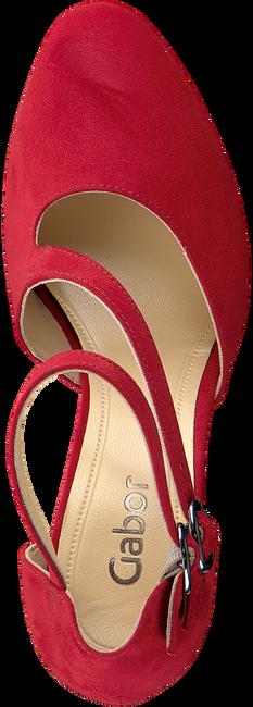 GABOR Escarpins 370.1 en rouge - large