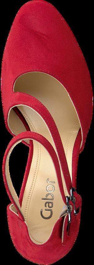 GABOR Escarpins 370.1 en rouge - larger