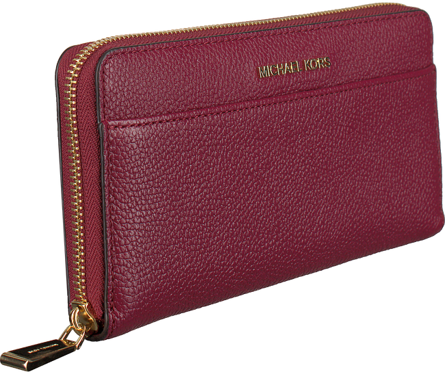 MICHAEL KORS Porte-monnaie POCKET ZA en rouge - large