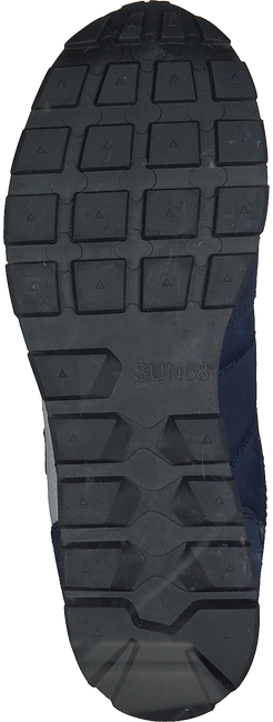 Blauwe SUN68 Lage sneakers TOM SOLID MEN - large