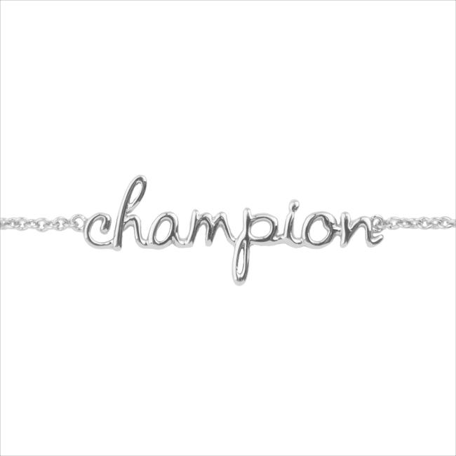 ALLTHELUCKINTHEWORLD Bracelet URBAN BRACELET CHAMPION en argent - large
