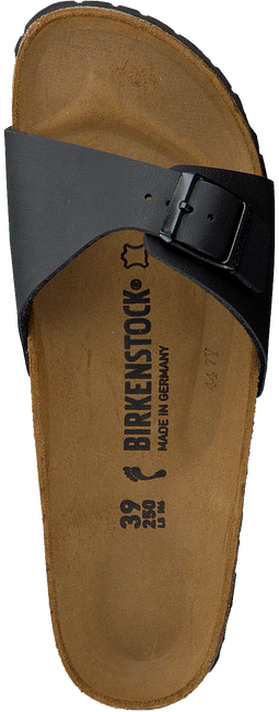 BIRKENSTOCK PAPILLIO Tongs MADRID en noir - large