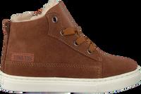 Cognac TON & TON Hoge sneaker PL20W017  - medium