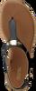 MICHAEL KORS Sandales MK PLATE THONG en noir - small