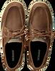 SEBAGO Chaussures à lacets CLOVEHITCH en cognac  - small