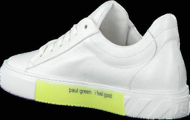 PAUL GREEN Baskets basses 4950-006 en blanc  - large