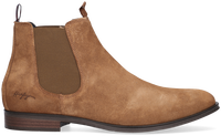 Bruine TOMMY HILFIGER Chelsea boots CASUAL SUEDE  - medium