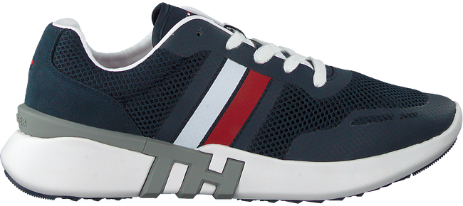 Blauwe TOMMY HILFIGER Lage sneakers LIGHTWEIGHT CORPORATE TH RUNNER  - large