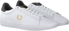 FRED PERRY Baskets basses B8255 en blanc  - small