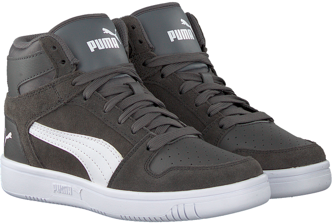 Grijze PUMA Sneakers REBOUND LAYUP SD JR  - large