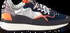 Zilveren FLORIS VAN BOMMEL Lage sneakers 16301  - small