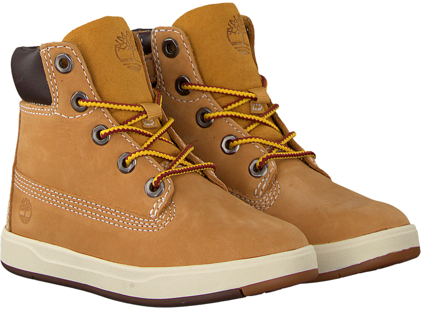 Camel TIMBERLAND Sneakers DAVIS SQUARE 6 INCH KIDS - larger
