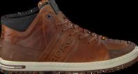 Cognac BJORN BORG Sneakers CURD MID M  - medium