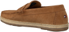 Cognac TOMMY HILFIGER Instappers CASUAL DRIVER  - small