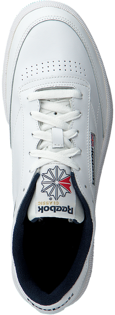 REEBOK Baskets CLUB C 85 MEN en blanc - large