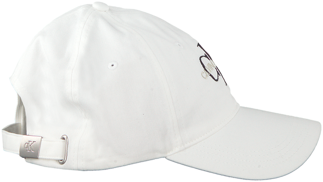 Witte CALVIN KLEIN Pet J MONOGRAM CAP M  - large