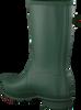 HUNTER Bottes en caoutchouc WOMENS ORIGINAL SHORT en vert - small